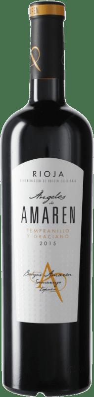 18,95 € 免费送货   红酒 Luis Cañas Ángeles de Amaren D.O.Ca. Rioja 西班牙 瓶子 75 cl