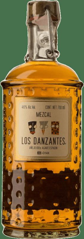 87,95 € Envío gratis | Mezcal Los Danzantes Añejo Mexico Botella 70 cl