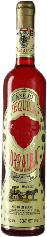 49,95 € Free Shipping | Tequila Corralejo Añejo Jalisco Mexico Bottle 70 cl