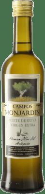 5,95 € Envío gratis | Aceite Castillo de Monjardín Arbequina Extra Navarra España Botella Medium 50 cl