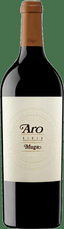 178,95 € Envío gratis | Vino tinto Muga Aro D.O.Ca. Rioja España Tempranillo, Graciano Botella 75 cl