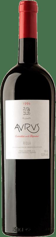 3 235,95 € Envoi gratuit | Vin rouge Allende Aurus 1996 D.O.Ca. Rioja Espagne Tempranillo, Graciano Botella Melchor 18 L