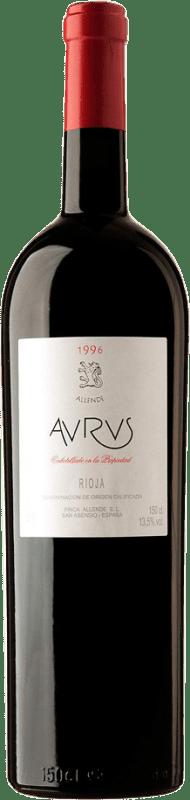 4 904,95 € Envoi gratuit | Vin rouge Allende Aurus 1996 D.O.Ca. Rioja Espagne Tempranillo, Graciano Botella Goliath 27 L
