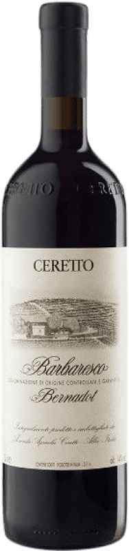 116,95 € Free Shipping | Red wine Ceretto Bernadot D.O.C.G. Barbaresco Piemonte Italy Nebbiolo Bottle 75 cl