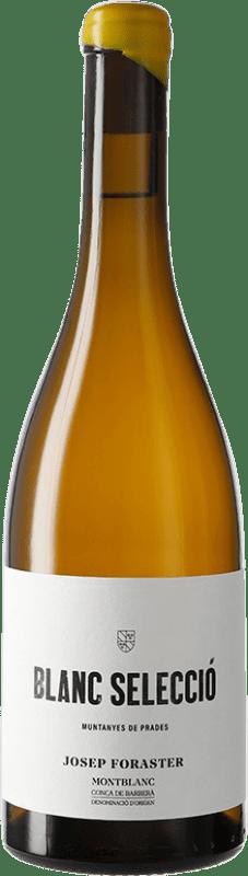 11,95 € Free Shipping | White wine Josep Foraster Blanc Selecció D.O. Conca de Barberà Catalonia Spain Grenache White, Macabeo, Chardonnay Bottle 75 cl