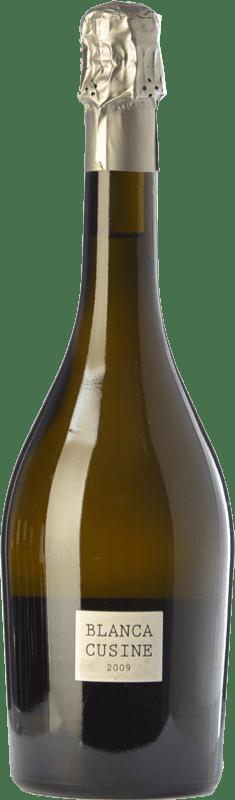 19,95 € Free Shipping | White sparkling Parés Baltà Blanca Cusiné Brut Nature D.O. Cava Spain Pinot Black, Xarel·lo, Chardonnay Bottle 75 cl
