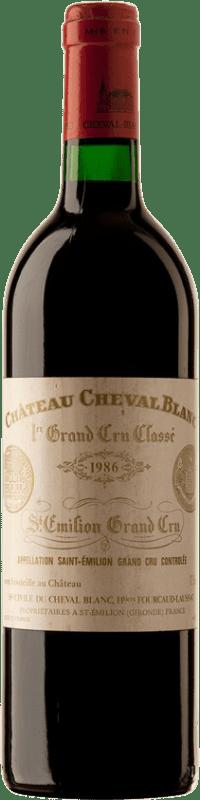 485,95 € | Red wine Château Cheval Blanc 1986 A.O.C. Saint-Émilion Bordeaux France Merlot, Cabernet Franc Bottle 75 cl