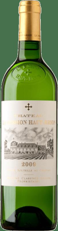 1 309,95 € Free Shipping | White wine Château La Mission Haut-Brion Blanc 2009 A.O.C. Pessac-Léognan Bordeaux France Sauvignon White, Sémillon, Muscadelle Bottle 75 cl
