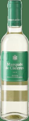 3,95 € 免费送货 | 白酒 Marqués de Cáceres Blanc D.O.Ca. Rioja 西班牙 Viura 半瓶 37 cl