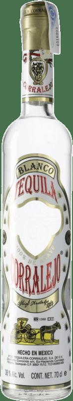 29,95 € Envío gratis | Tequila Corralejo Blanco Jalisco Mexico Botella 70 cl