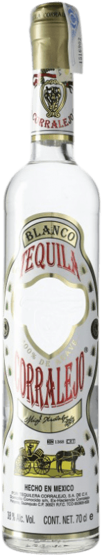 29,95 € Free Shipping | Tequila Corralejo Blanco Jalisco Mexico Bottle 70 cl