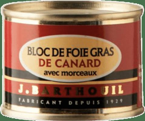 9,95 € Free Shipping | Foie y Patés J. Barthouil Bloc de Foie Gras de Canard avec Morceaux France