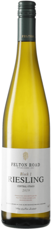 42,95 € Free Shipping | White wine Felton Road Block 1 I.G. Central Otago Central Otago New Zealand Riesling Bottle 75 cl