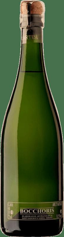 4,95 € Envío gratis | Espumoso blanco Tianna Negre Bocchoris de Sais Brut Nature D.O. Cava España Macabeo, Xarel·lo, Parellada Botella 75 cl