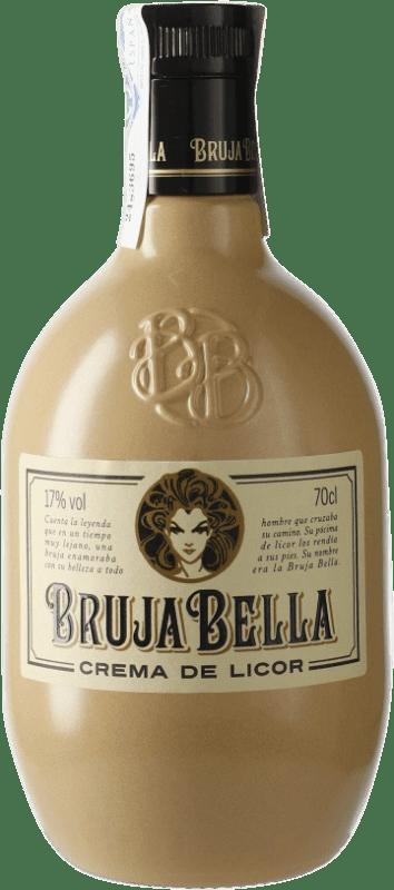 9,95 € Envío gratis | Crema de Licor Caballero Bruja Bella Crema de Licor Galicia España Botella 70 cl