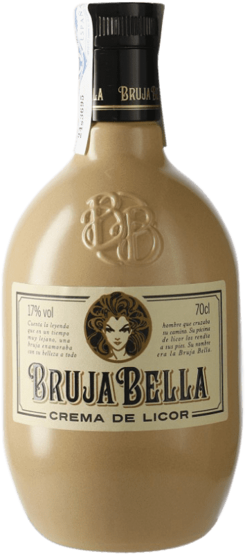 9,95 € Free Shipping | Liqueur Cream Caballero Bruja Bella Crema de Licor Galicia Spain Bottle 70 cl