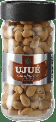 4,95 € Envío gratis | Aperitivos y Snacks Ujué Cacahuete Salado España