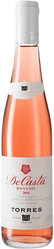 3,95 € Free Shipping | Rosé wine Torres Casta Rosat D.O. Penedès Catalonia Spain Grenache, Carignan Half Bottle 37 cl