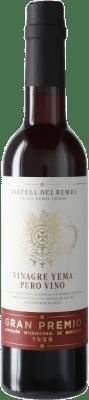 7,95 € Envío gratis | Vinagre Castell del Remei Castell del Remei Yema España Media Botella 37 cl