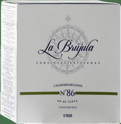17,95 € | Conservas de Marisco La Brújula Chipirones en su Tinta Spain 12 Pieces
