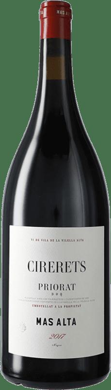 89,95 € 免费送货 | 红酒 Mas Alta Cirerets D.O.Ca. Priorat 加泰罗尼亚 西班牙 Grenache, Carignan 瓶子 Magnum 1,5 L