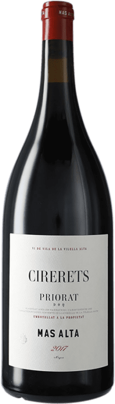 89,95 € Envío gratis | Vino tinto Mas Alta Cirerets D.O.Ca. Priorat Cataluña España Garnacha, Cariñena Botella Mágnum 1,5 L