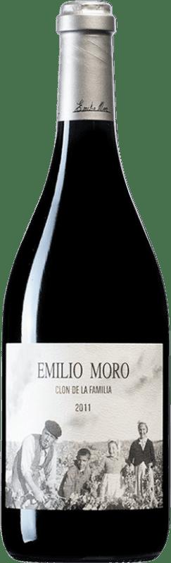 247,95 € Envoi gratuit | Vin rouge Emilio Moro Clon de la Família D.O. Ribera del Duero Castille et Leon Espagne Tempranillo Bouteille 75 cl
