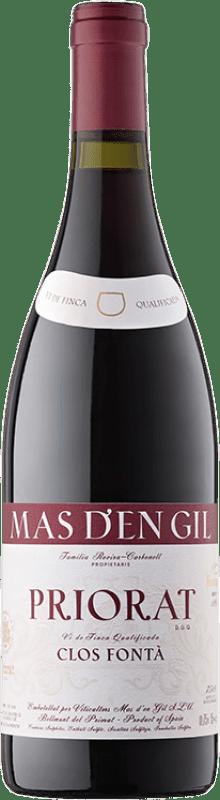 57,95 € Envío gratis | Vino tinto Mas d'en Gil Clos Fontà D.O.Ca. Priorat Cataluña España Garnacha, Cabernet Sauvignon, Cariñena, Garnacha Peluda Botella 75 cl