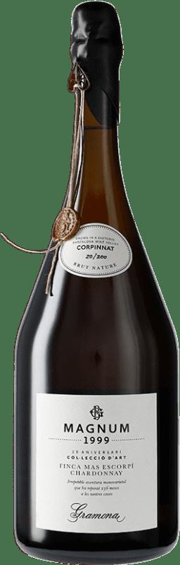409,95 € | White sparkling Gramona Col·lecció d'Art 1999 Corpinnat Spain Chardonnay Magnum Bottle 1,5 L