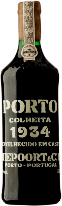 1 309,95 € 免费送货 | 红酒 Niepoort Colheita 1934 I.G. Porto 波尔图 葡萄牙 Touriga Franca, Touriga Nacional, Tinta Roriz 瓶子 75 cl