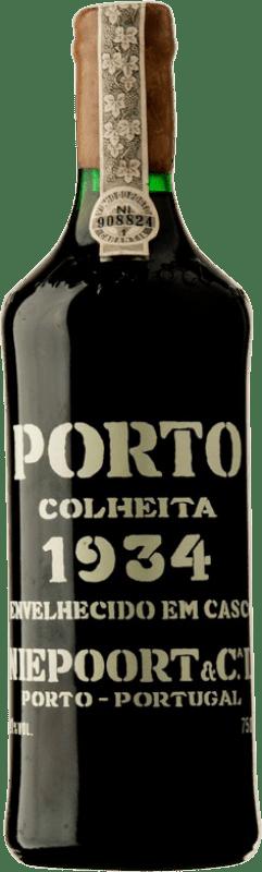 1 309,95 € Free Shipping | Red wine Niepoort Colheita 1934 I.G. Porto Porto Portugal Touriga Franca, Touriga Nacional, Tinta Roriz Bottle 75 cl