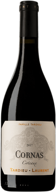 64,95 € Free Shipping | Red wine Tardieu-Laurent Coteaux A.O.C. Cornas France Syrah, Serine Bottle 75 cl