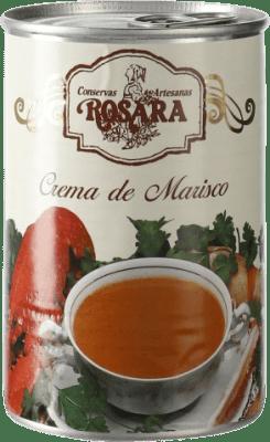 7,95 € Envío gratis | Salsas y Cremas Rosara Crema de Marisco España