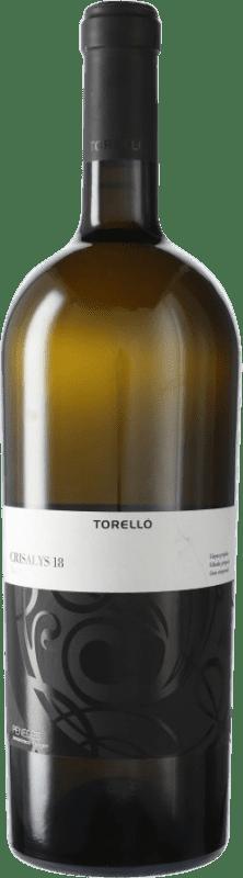 19,95 € Envoi gratuit | Vin blanc Torelló Crisalys D.O. Penedès Catalogne Espagne Xarel·lo Bouteille Magnum 1,5 L
