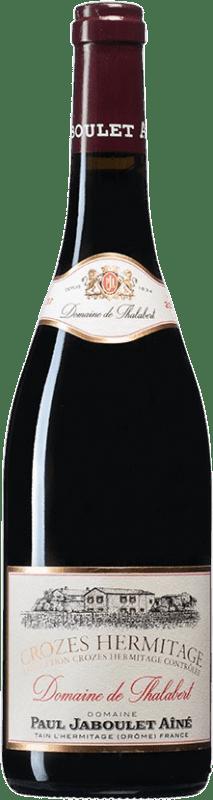 32,95 € | Red wine Jaboulet Aîné Domaine de Thalabert A.O.C. Crozes-Hermitage France Syrah Bottle 75 cl