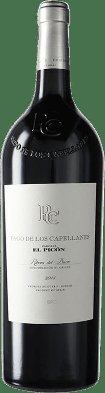 272,95 € Free Shipping | Red wine Pago de los Capellanes El Picón D.O. Ribera del Duero Castilla y León Spain Tempranillo Magnum Bottle 1,5 L