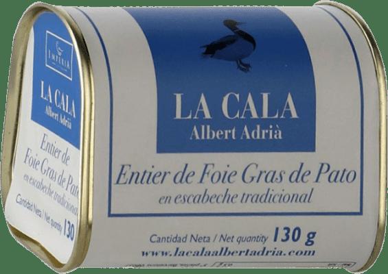 22,95 € Free Shipping | Foie y Patés La Cala Entier de Foie Gras en Escabeche Spain