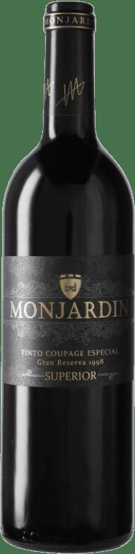 46,95 € Free Shipping | Red wine Castillo de Monjardín Especial Gran Reserva 1998 D.O. Navarra Navarre Spain Bottle 75 cl
