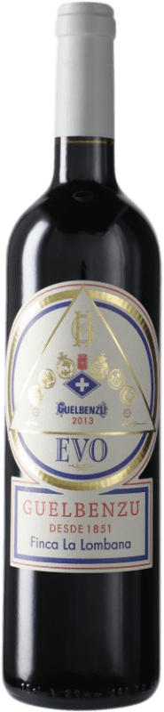 14,95 € | Red wine Guelbenzu Evo D.O. Navarra Navarre Spain Bottle 75 cl
