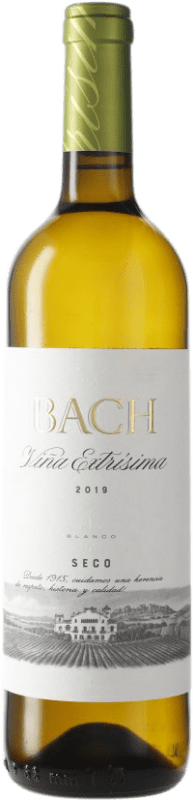 4,95 € Free Shipping | White wine Bach Extrísimo Dry D.O. Penedès Catalonia Spain Bottle 75 cl