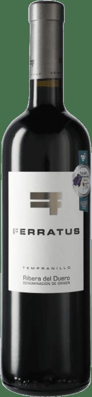 29,95 € Envío gratis | Vino tinto Cuevas Jiménez Ferratus D.O. Ribera del Duero Castilla y León España Botella 75 cl