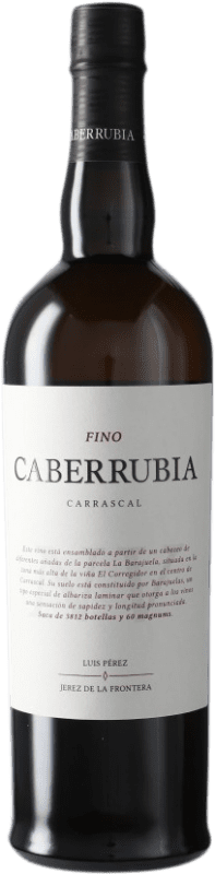 21,95 € Envoi gratuit | Vin fortifié Luis Pérez Fino Caberrubia D.O. Jerez-Xérès-Sherry Andalousie Espagne Palomino Fino Bouteille 75 cl