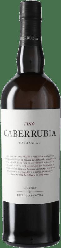 21,95 € Envío gratis | Vino generoso Luis Pérez Fino Caberrubia D.O. Jerez-Xérès-Sherry Andalucía España Palomino Fino Botella 75 cl