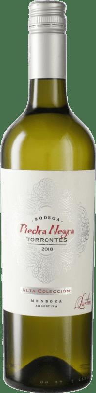 9,95 € Free Shipping | White wine Piedra Negra François Lurton Torrontés I.G. Mendoza Mendoza Argentina Bottle 75 cl