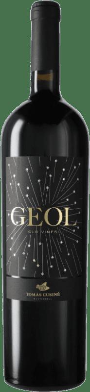 42,95 € 免费送货 | 红酒 Tomàs Cusiné Geol D.O. Costers del Segre 西班牙 Tempranillo, Merlot, Cabernet Franc 瓶子 Magnum 1,5 L
