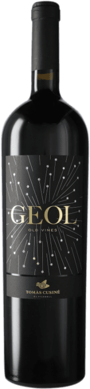 42,95 € Envío gratis | Vino tinto Tomàs Cusiné Geol D.O. Costers del Segre España Tempranillo, Merlot, Cabernet Franc Botella Mágnum 1,5 L