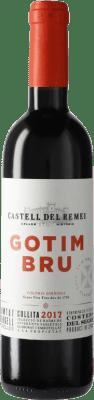 5,95 € 免费送货 | 红酒 Castell del Remei Gotim Bru D.O. Costers del Segre 西班牙 Tempranillo, Merlot, Grenache, Cabernet Sauvignon 瓶子 Medium 50 cl