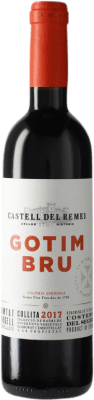 5,95 € Envoi gratuit | Vin rouge Castell del Remei Gotim Bru D.O. Costers del Segre Espagne Tempranillo, Merlot, Grenache, Cabernet Sauvignon Bouteille Medium 50 cl