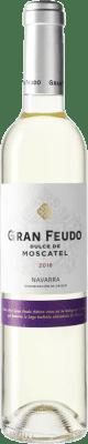 7,95 € Free Shipping | White wine Chivite Gran Feudo D.O. Navarra Navarre Spain Muscatel Medium Bottle 50 cl