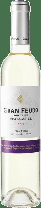 6,95 € Free Shipping | White wine Chivite Gran Feudo D.O. Navarra Navarre Spain Muscat Medium Bottle 50 cl